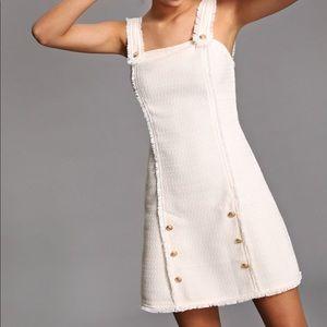 8959e690a5 Shein cream tweed dress